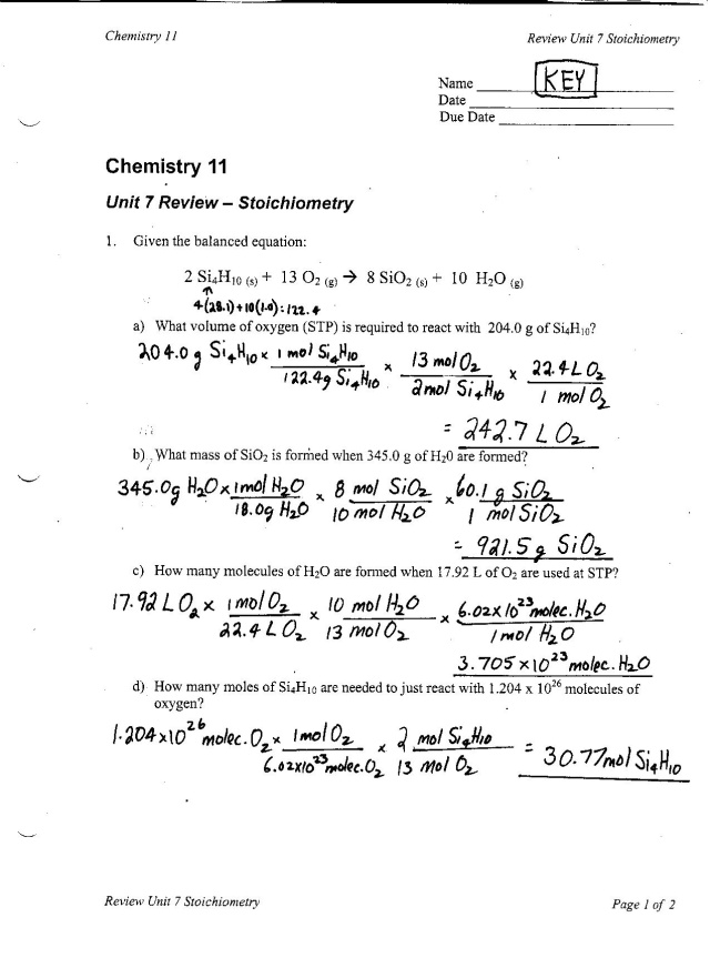 Blog Archives Ms Kims Classes – Chemistry Unit 1 Worksheet 3