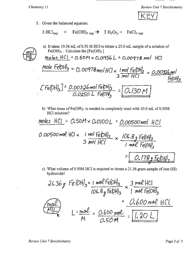 Chemistry Unit 1 Worksheet 3 - Davezan